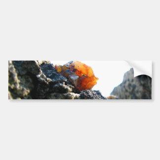 Glödande sten bildekal