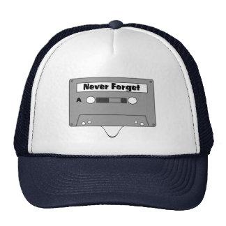 Glöm aldrig kassetten!!   Truckerkeps Baseball Hat