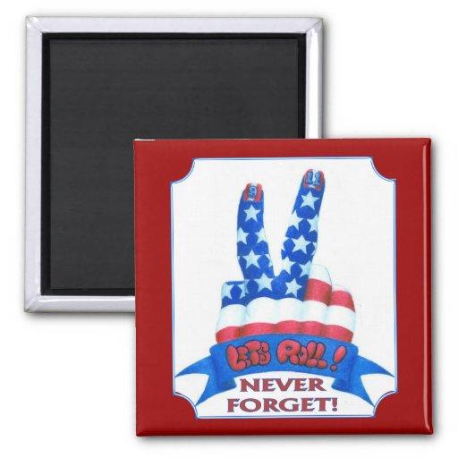 Glöm aldrig magneter för kylskåp