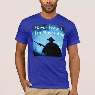 Glöm aldrig - minnedagen - 11th November Tröjor