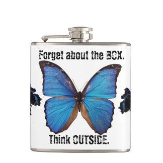 Glöm boxastänkan utanför naturflaskan fickplunta