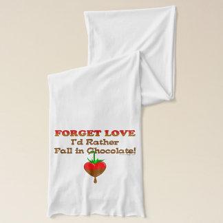 Glöm kärlek som jag skulle den snarlika nedgången halsduk