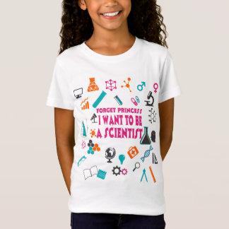 Glöm Princess I Önska Till Vara en forskareT-tröja T-shirt