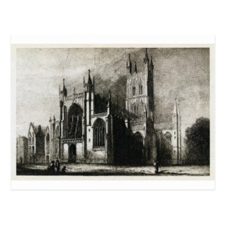 Gloucester domkyrka vykort