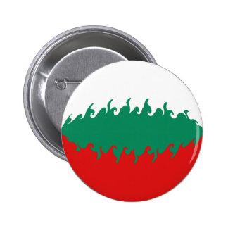 Gnarly flagga för Bulgarien Knapp