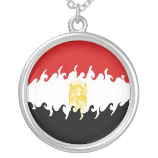 Gnarly flagga för egypten anpassningsbara smycken