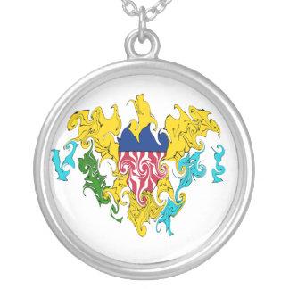 Gnarly flagga för US Virgin Islands Smycken