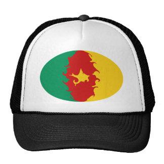 Gnarly flaggahatt för Kamerun Mesh Kepsar