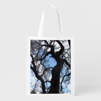 Gnarly träd återanvändbar påse