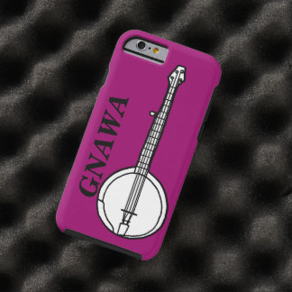 Gnawa banjo tough iPhone 6 fodral