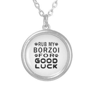 Gnid min Borzoi för lycka till