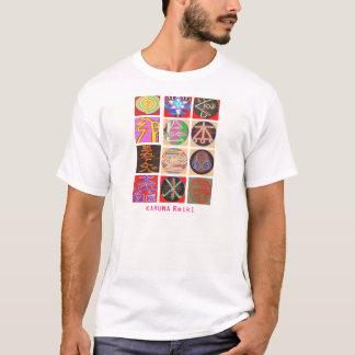 Gnistra Blaast för symboler n för miniatyr REIKI T Shirts