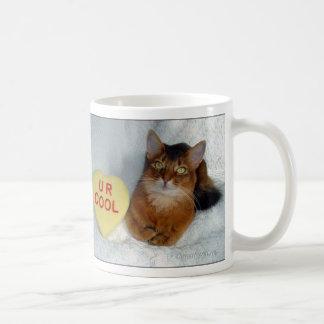 Gnistra kyler somaliska katt U R muggen Kaffemugg