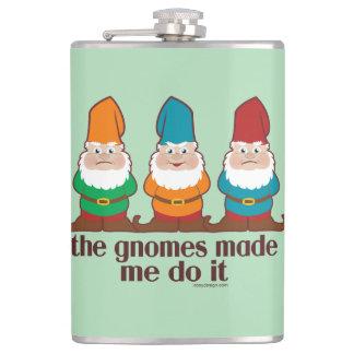 Gnomesna gjorde mig att göra det fickplunta