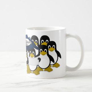 GNU/Linux! Vit Mugg