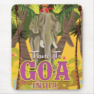 Goa Indien vintage resoraffisch Musmatta