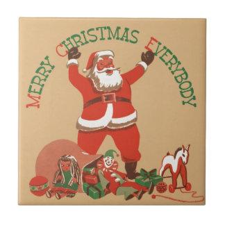 God jul alla kakelplatta