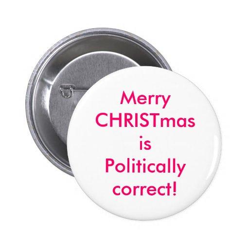 God jul är politiskt korrekt! knapp