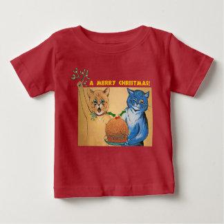 God jul från katt#holidayzen t shirt