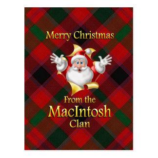 God jul från Macintoshklan Vykort