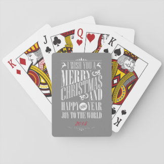 God jul gott nytt år, glädje till världen casinokort