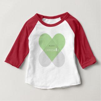 God jul - grönt tee shirt