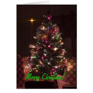 God jul! hälsningskort