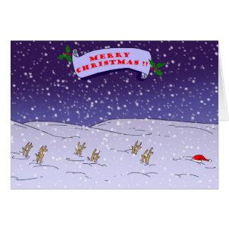 God jul!! hälsningskort
