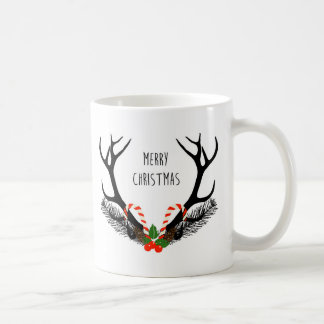 God jul - hjorthorn på kronhjort - mugg