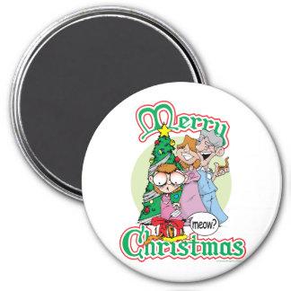God jul jamar magnet rund 7.6 cm