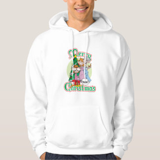 God jul jamar sweatshirt med luva