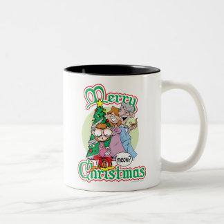 God jul jamar Två-Tonad mugg