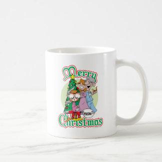 God jul jamar vit mugg