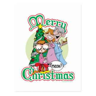 God jul jamar vykort
