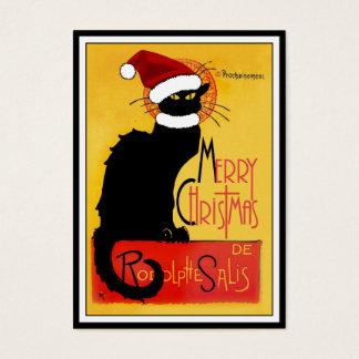 God jul - Noir chatta Visitkort