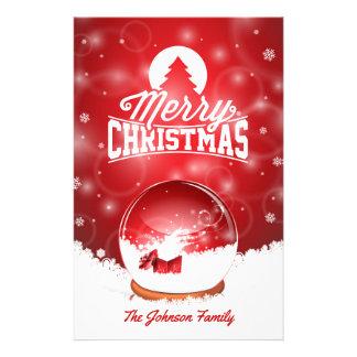 God jul- och gott nytt årtypografi brevpapper