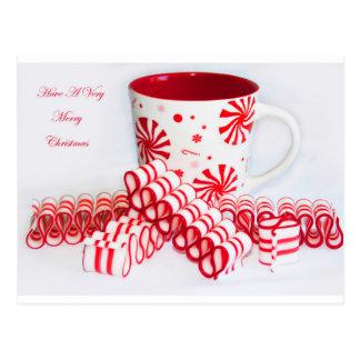 God jul rånar och bandgodisen vykort
