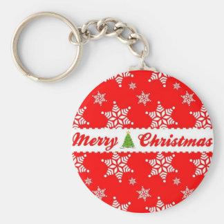 God jul rund nyckelring