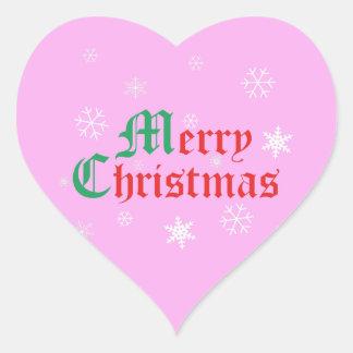 God jul - snöflingor