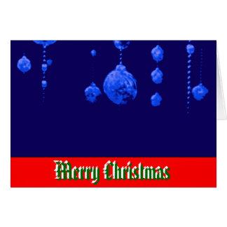 God jul som dansar bollblåttMUSEET Zazzle Hälsnings Kort