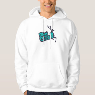 god jul sweatshirt med luva