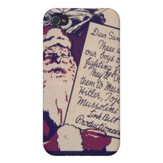 God jul till alla och till allt ett bra slagsmål iPhone 4 fodral