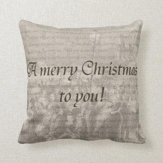 God jul till dig! tvåsidigt kudde