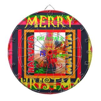 God jul världen runt om mig är lycklig till ha dart tavlor