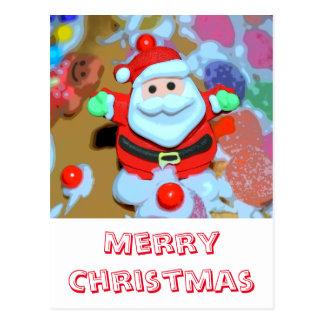 God jul vykort