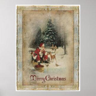 God julaffisch poster