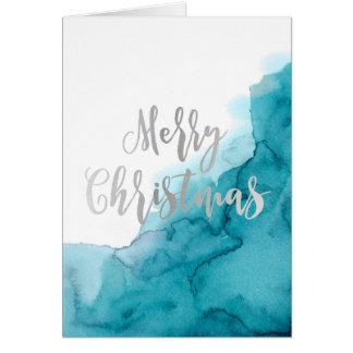 God julakvarellkort hälsningskort