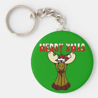 God julälg rund nyckelring