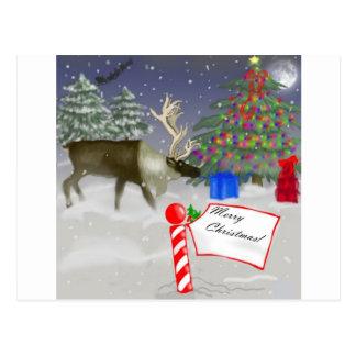 God julälg vykort