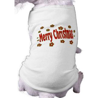 god julblommor husdjurströja